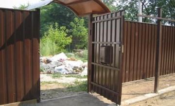 Заборы, ограждения, ворота